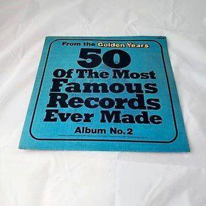 50 Of The Most Famous Records Vinyl LP Vol. 2